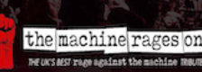 The Machine Rages On (Tribute to Rage Against The Machine) logo